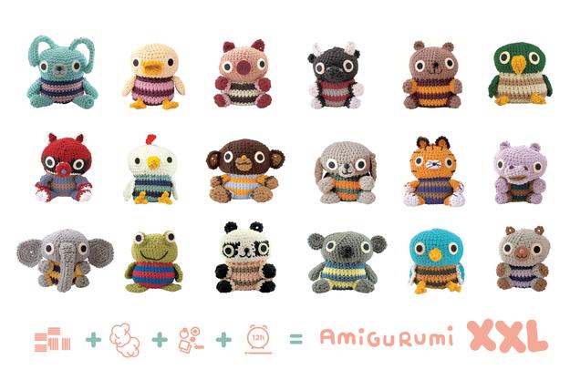 Amigurumies xxl lalala toys