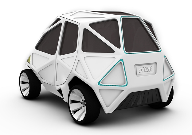 Exo concept car 2 design by mark beccaloni mauro fragiotta